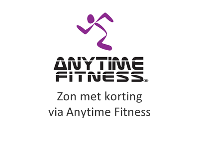 Korting met Anytime Fitness